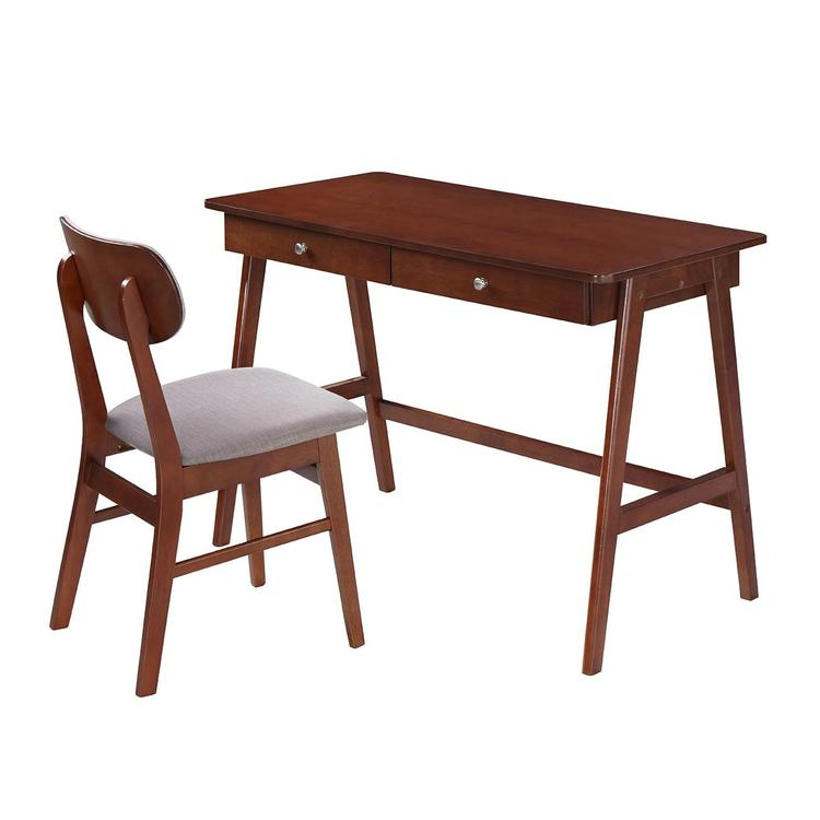 Techni Mobili Modern Desk With Storage And Chair Set