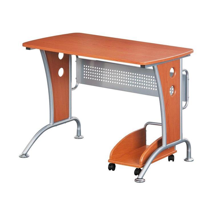 Techni Mobili Modern Computer Desk With Mobile Cpu Caddy