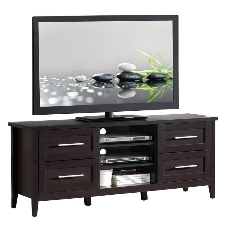 Techni Mobili Elegant TV Stand With Storage [Item # RTA-8898-ES]