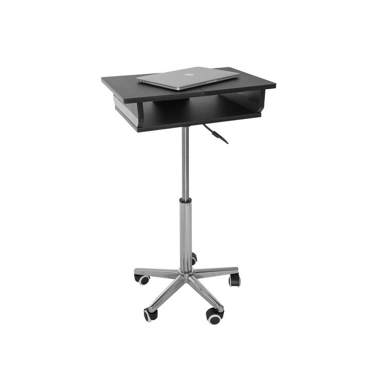 Techni Mobili Folding Table Laptop Cart