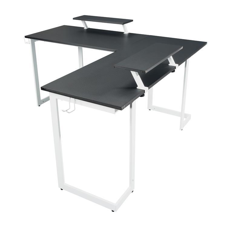 Techni Sport L-Shaped Gaming Desk