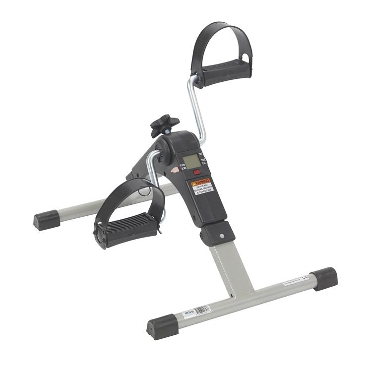 Drive Medical Folding Exercise Peddler with Electronic Display [Item # RTL10273]