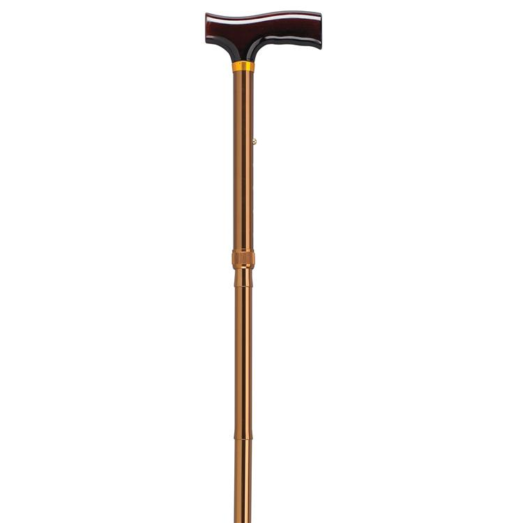 Drive Medical Folding Cane with Glow Gel Grip Handle