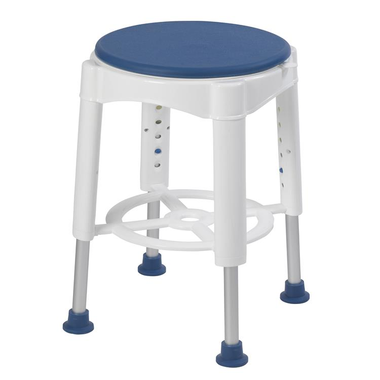 Drive Medical Bathroom Safety Swivel Seat Shower Stool [Item # rtl12061m]