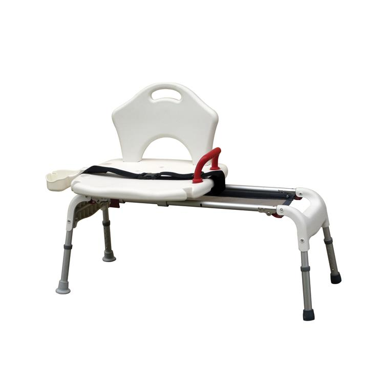Drive Medical Folding Universal Sliding Transfer Bench [Item # RTL12075A]
