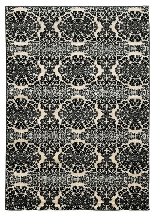 Linon Elegance SnowFlakes Rug