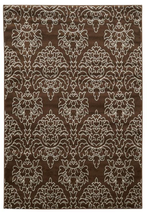 Linon Elegance Damask Rug