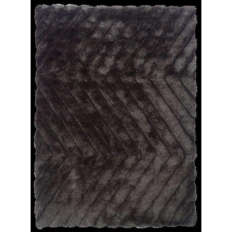 Linon Links Zigzag Geometric Area Rug