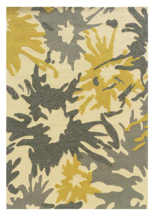 Linon Le Soleil Collection Hand Tufted Rug