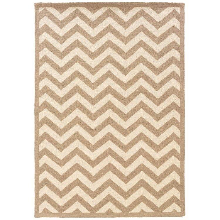 Linon Silhouette Chevron Floor Coverings Rugs