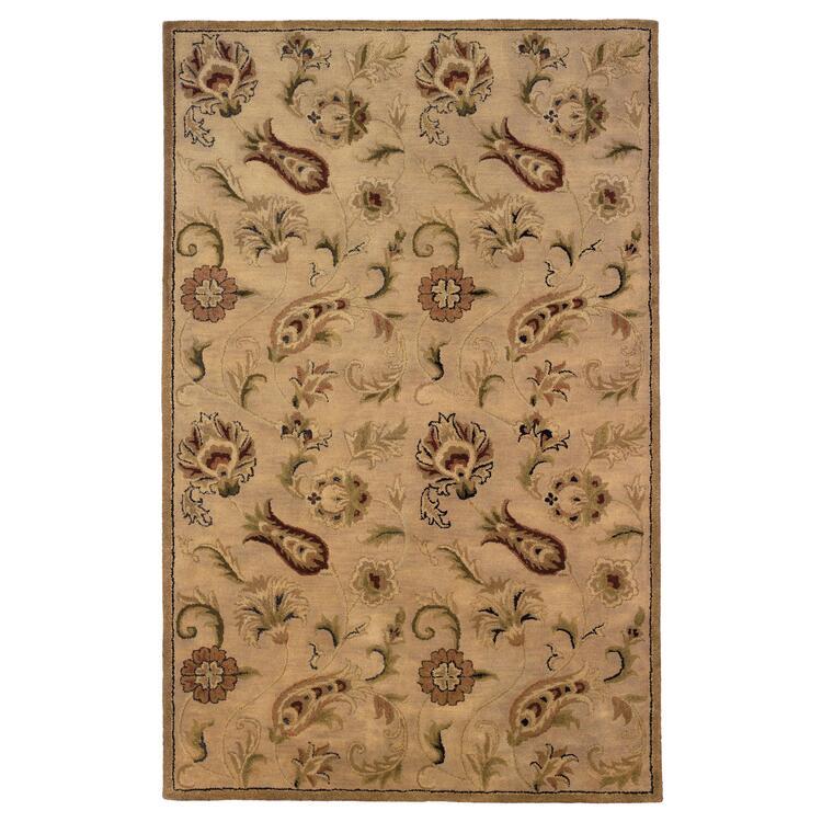Linon Ashton Collection Hand Tufted Wool Rug