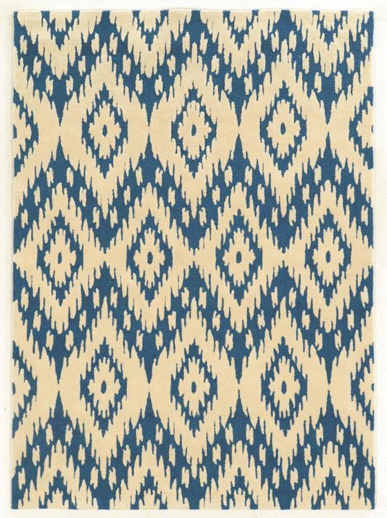 Linon Trio Collection Hand Tufted Rectangle Rug