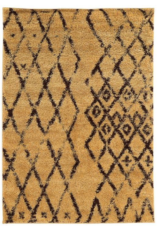 Moroccan  Marrekes Camel/Brown 8x10