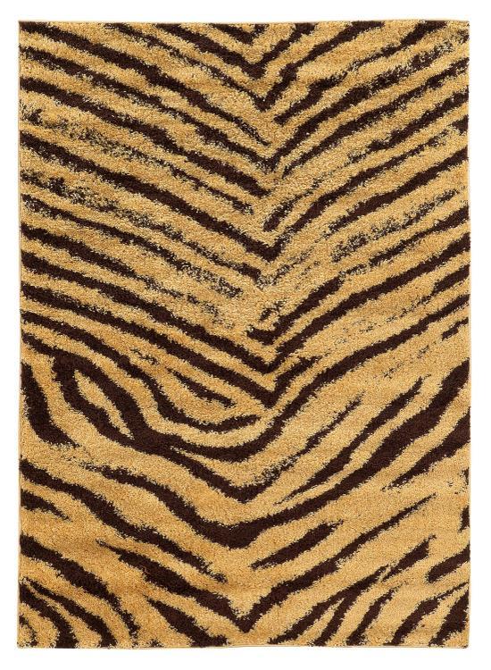 Moroccan  Sahara  Ivory/Black 8x10