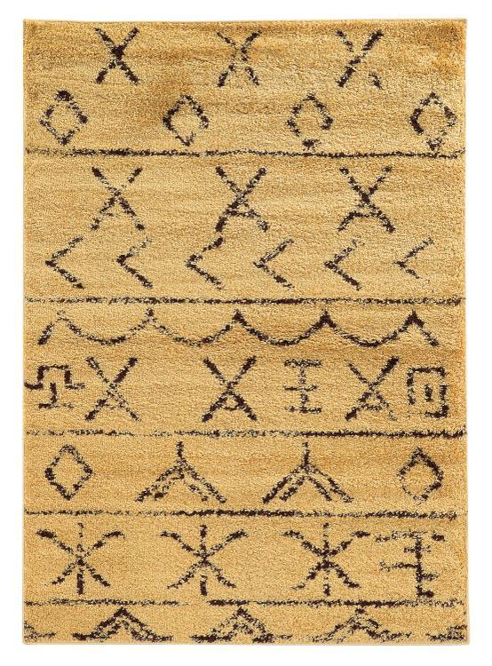 Moroccan Atlas Ivory/Black 8x10