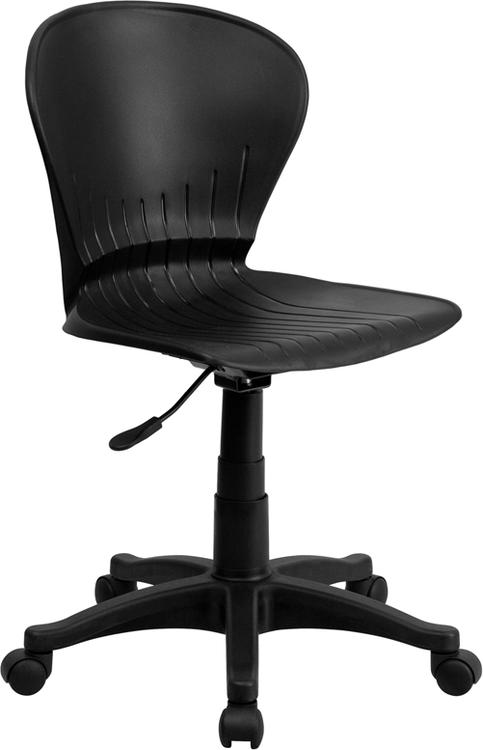 Mid-Back Plastic Swivel Task Chair