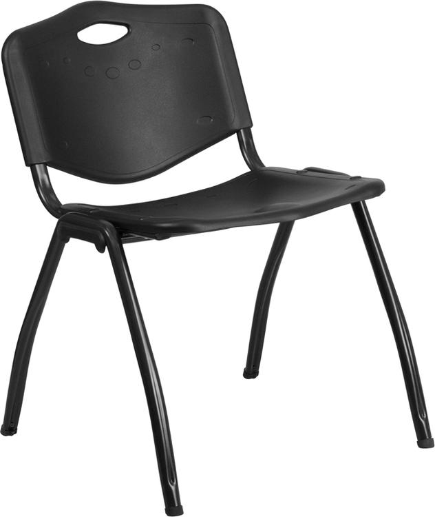 Hercules Series 880 Lb. Capacity Plastic Stack Chair