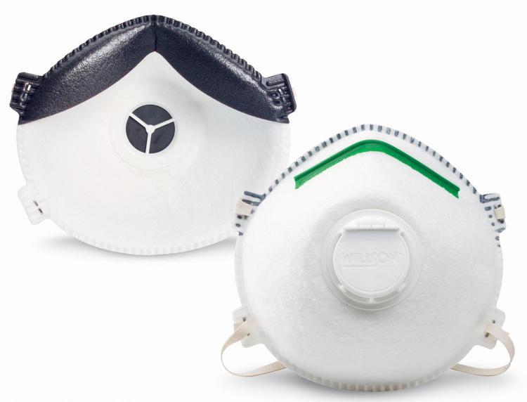 Rws-54006 Dust Mask W/Exh Valv