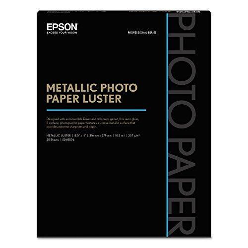 Metallic Photo Paper Luster 8.5x11