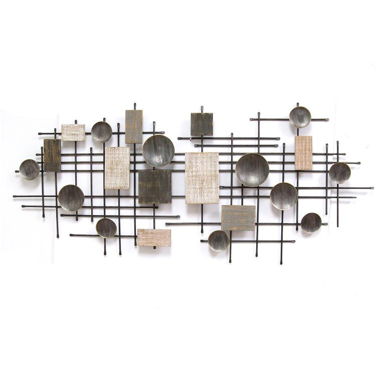 Stratton Home Décor Large Modern Industrial Wall Decor