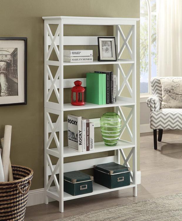 Convenience Concepts  Oxford 5 Tier Bookcase [Item # S20-139]