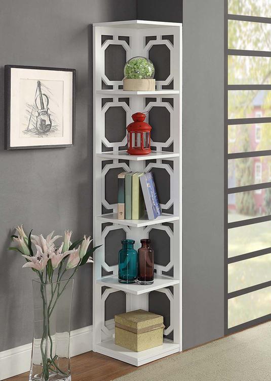 Omega Corner Bookcase