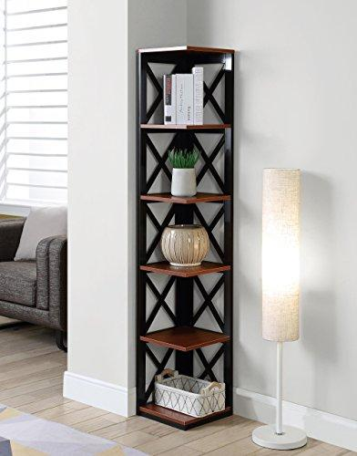 Oxford 5 Tier Corner Bookcase