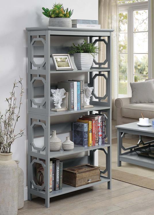 Convenience Concepts Omega 5 Tier Bookcase [Item # S20-292]