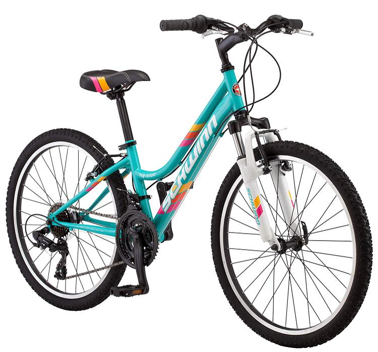 Schwinn Bicycles Girl's High Timber - Front Suspension Bicycle