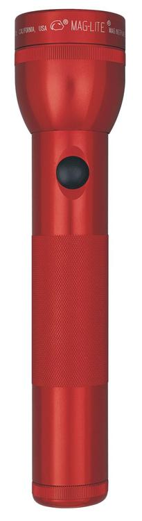 S2D036 Maglite 2Cell D Red