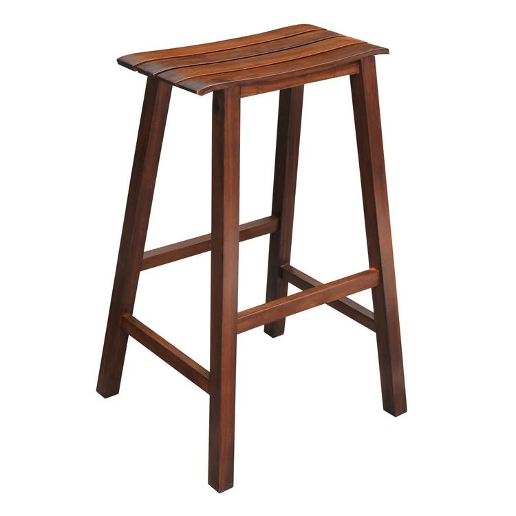 International Concepts Slat Seat Stool - 29