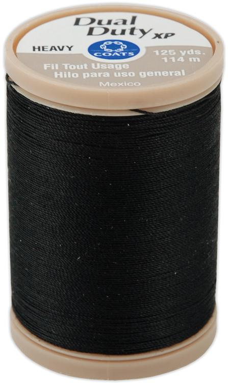 Dual Duty XP Heavy Thread 125yd-Black