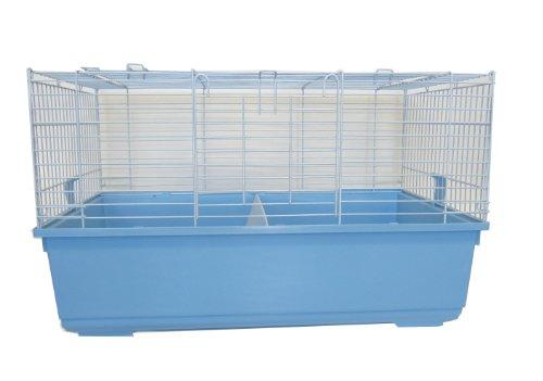 Indoor Small Animal Cage Rabbit With Stand In Blue