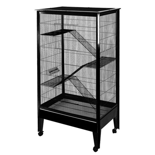 Large - 4 Level Small Animal Cage on Casters