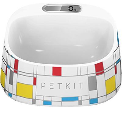 Smart Pet Bowl, Small, Color Squares