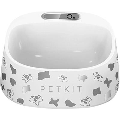 Smart Pet Bowl, Small, Black/White