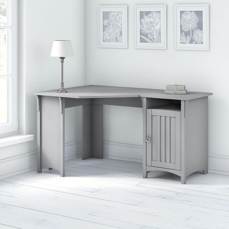 Bush Furniture Salinas 55W Corner Desk with Storage