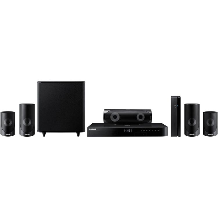 5.1 Ch. Smart Home Theater System with 3D Blu-ray and Built-in WiFi
