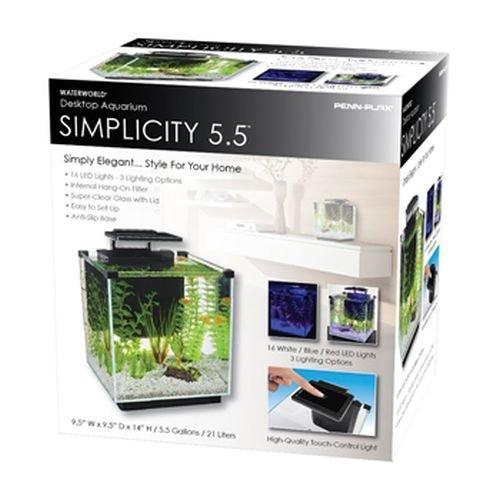 Penn Plax Simplicity 5.5 Desktop Aquarium