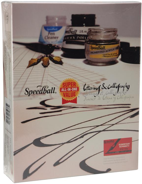 Speedball Lettering & Calligraphy Kit-