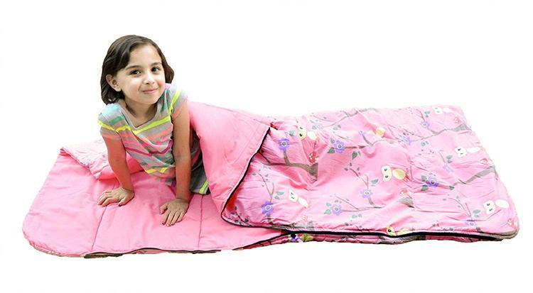 Bazoongi Owl Slumber Bag Pink