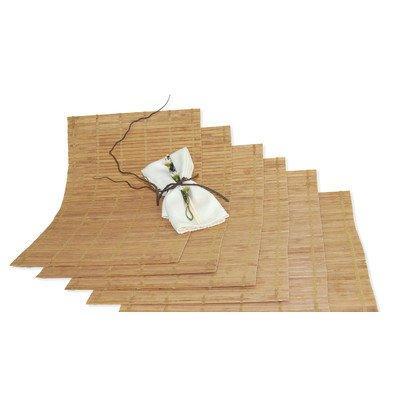 Bamboo Placemat Set Of 6