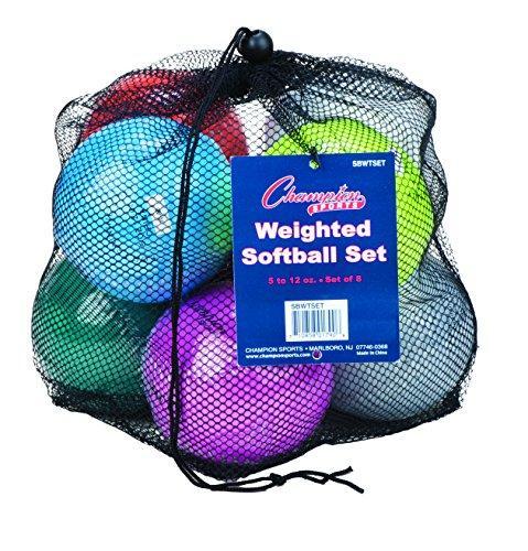 Weighted Training Softball Set
