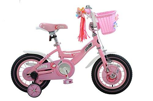 Bunny Girl's Bike, 12 inch wheels, 8 inch frame, Pink/White