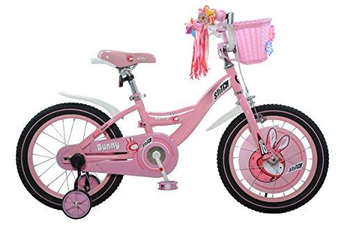 Bunny Girl's Bike, 16 inch wheels, 9 inch frame, Pink/White