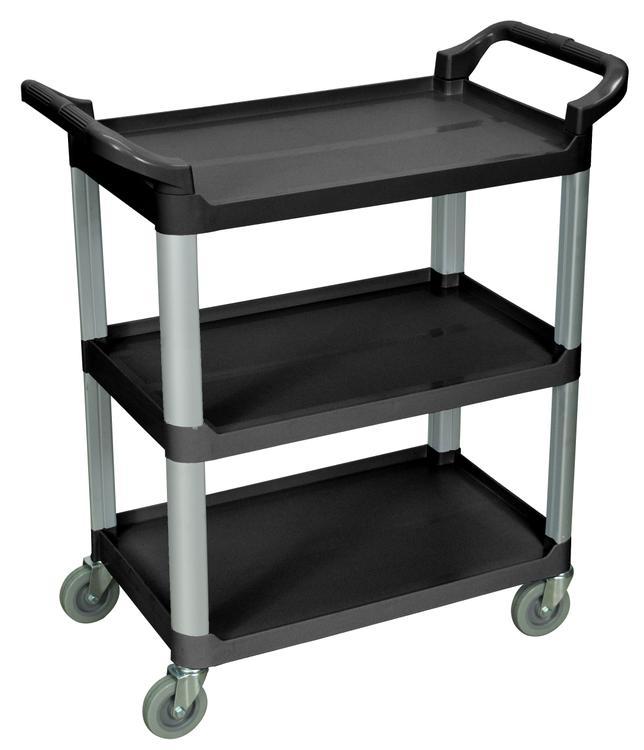 Luxor 3 Shelf Multipurpose Serving Cart