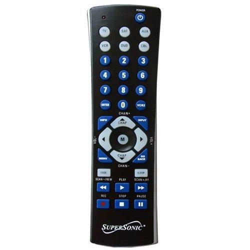 Universal Remote for 6 Components
