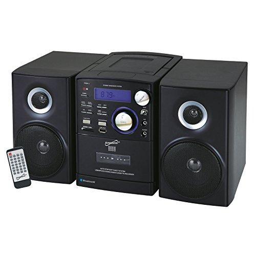 Bluetooth CD MP3 Mini System Black