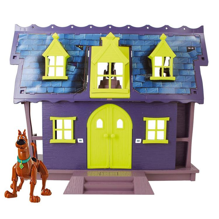 Scooby Doo Mystery Mansion and 2 Action Figure Playset