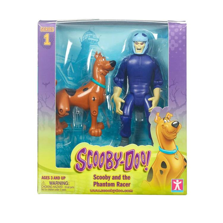 Scooby Doo Scooby and Phantom Racer Action Figure 2 Pack